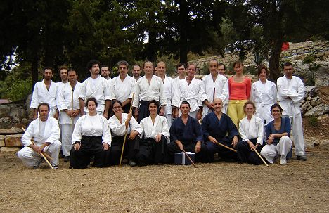 Sensei Ferdinando's 5th Dan celebration party - The Aikido seminar