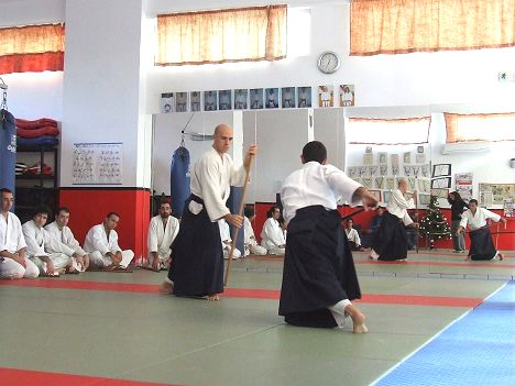 Aikido seminar at Hania Dojo on December 13-14, 2008