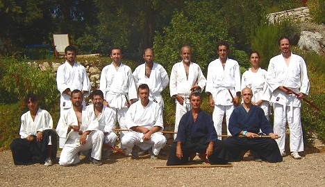 Special Aikido class Bokken at Nippos, October 2012