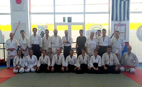 Aikido seminar at Hania Dojo on June 25, 2017