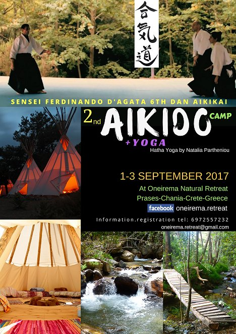 Aikido camp at Prasés 1-3 September 2017
